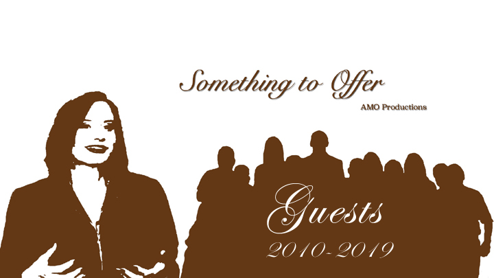 Something to Offer Guest List 2010-2019